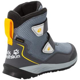 Jack Wolfskin Polar Bear Texapore VC Buty zimowe wysokie Dzieci, pebble grey/burly yellow XT